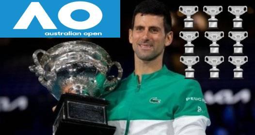 ZAVRŠENO OTVORENO PRVENSTVO AUSTRALIJE U TENISU MELBURN 2021: Novak i dalje nedodirljiv, Medvedev bez grama šanse u finalu