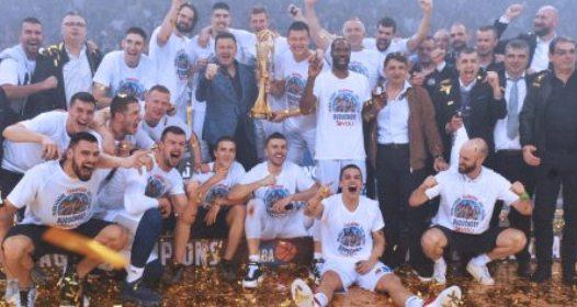 ZAVRŠEN PLEJ-OF ABA LIGE 2018: Budućnost prvi put šampion, Zvezda najverovatnije bez Evrolige
