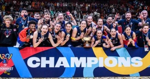 ZAVRŠENO EVROPSKO PRVENSTVO ZA KOŠARKAŠICE 2021: Srbija bez poraza do zlata, Sonja Vasić MVP šampionata