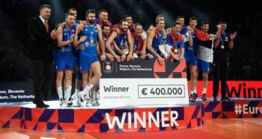 ZAVRŠENO EVROPSKO PRVENSTVO ZA ODBOJKAŠE 2019: Srbija po treći put na evropskom tronu, Uroš Kovačević MVP takmičenja