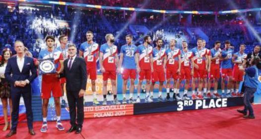 ZAVRŠENO EVROPSKO PRVENSTVO ZA ODBOJKAŠE U POLJSKOJ 2017: Bronza za Srbiju, Rusija šampion