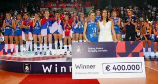 ZAVRŠENO EVROPSKO PRVENSTVO ZA ODBOJKAŠICE 2019: Srbija odbranila tron, Tijana Bošković još jednom MVP takmičenja