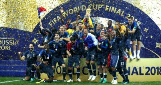 ZAVRŠENO SVETSKO FUDBALSKO PRVENSTVO U RUSIJI 2018: Francuska šampion, Hrvatskoj srebro, Belgiji bronza, Srbija na deobi 22. mesta sa Nemačkom