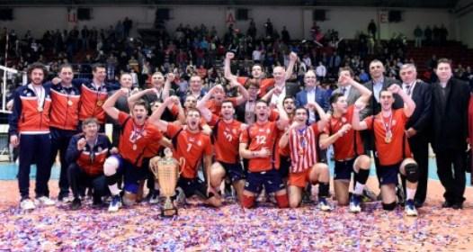 FINALE KUPA SRBIJE ZA ODBOJKAŠE: Zvezda veoma lako do 13. trofeja Kupa