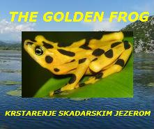 KRSTARENJE ČAMCEM THE GOLDEN FROG SKADARSKO JEZERO