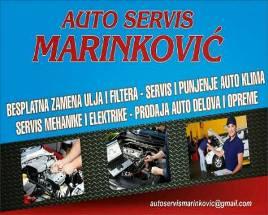 AUTO SERVIS LESKOVAC MEHANIKA KLIME ELEKTRIKA AUTO CENTAR MARINKOVIĆ