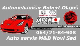 AUTO SERVIS M&B NOVI SAD JAPANSKA I KOREJSKA VOZILA