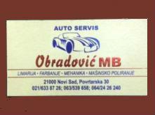 AUTO MEHANIČAR FARBAR LIMAR SERVIS OBRADOVIĆ MB NOVI SAD