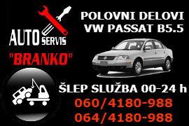 AUTO SERVIS OTPAD POLOVNI DELOVI VW PASSAT B5.5 ŠLEP SLUŽBA BATAJNICA ZEMUN