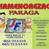 KAMENOREZAC FARAGA STARA PAZOVA NOVI SAD BEOGRAD