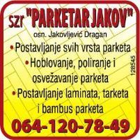 PARKETAR JAKOV NOVI SAD PARKETARSKE USLUGE LAMINAT
