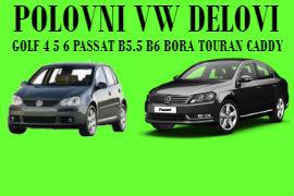 POLOVNI DELOVI VW GOLF 4 5 6 PASSAT B5.5 B6 BORA TOURAN CADDY ŠABAC BEOGRAD
