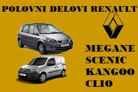 AUTO OTPAD RENO ŠABAC POLOVNI DELOVI RENAULT CLIO LAGUNA MEGAN BEOGRAD