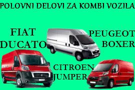 POLOVNI DELOVI FIAT DUCATO CITROEN JUMPER PEUGEOT BOXER ČAČAK BEOGRAD
