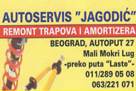 REMONT TRAPOVA I AMORTIZERA AUTO SERVIS JAGODIĆ BEOGRAD